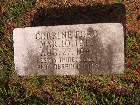 FORD, CORRINE - Union County, Arkansas | CORRINE FORD - Arkansas Gravestone Photos