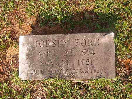 FORD, DORSEY - Union County, Arkansas | DORSEY FORD - Arkansas Gravestone Photos
