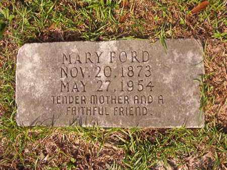 FORD, MARY - Union County, Arkansas | MARY FORD - Arkansas Gravestone Photos