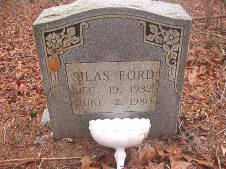 FORD, SILAS - Union County, Arkansas | SILAS FORD - Arkansas Gravestone Photos