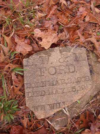 FORD, UNKNOWN - Union County, Arkansas | UNKNOWN FORD - Arkansas Gravestone Photos
