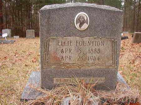 FOUNTION, ELLIE - Union County, Arkansas | ELLIE FOUNTION - Arkansas Gravestone Photos