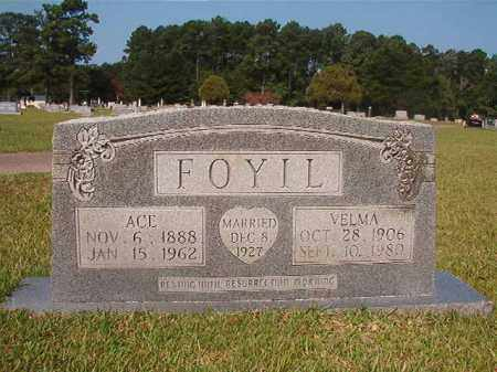 FOYIL, ACE - Union County, Arkansas | ACE FOYIL - Arkansas Gravestone Photos