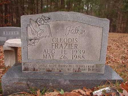 FRAZIER, CLEODIS - Union County, Arkansas | CLEODIS FRAZIER - Arkansas Gravestone Photos
