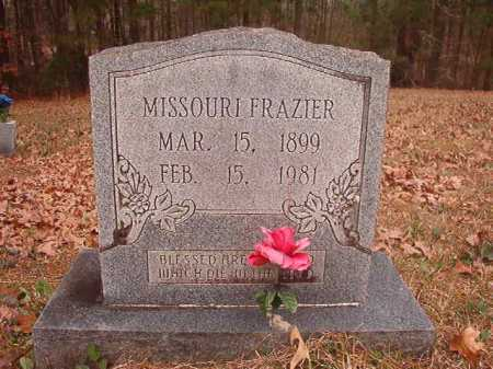 FRAZIER, MISSOURI - Union County, Arkansas | MISSOURI FRAZIER - Arkansas Gravestone Photos