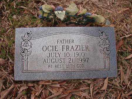 FRAZIER, OCIE - Union County, Arkansas | OCIE FRAZIER - Arkansas Gravestone Photos