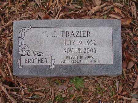 FRAZIER, T J - Union County, Arkansas | T J FRAZIER - Arkansas Gravestone Photos
