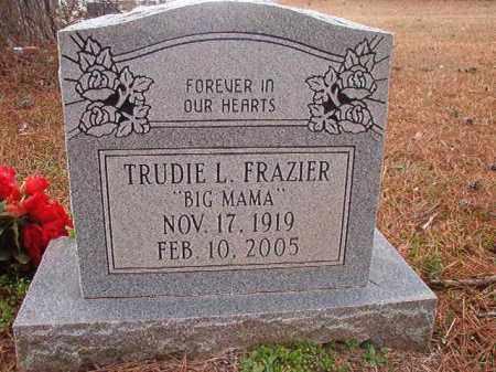 FRAZIER, TRUDIE L - Union County, Arkansas | TRUDIE L FRAZIER - Arkansas Gravestone Photos