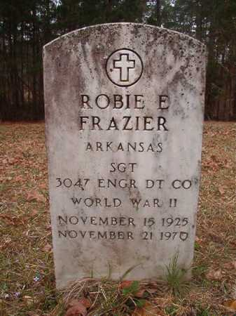 FRAZIER (VETERAN WWII), ROBIE E - Union County, Arkansas | ROBIE E FRAZIER (VETERAN WWII) - Arkansas Gravestone Photos