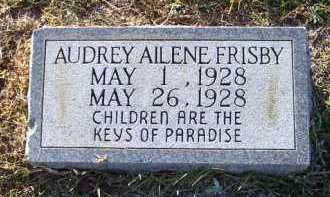 FRISBY, AUDREY AILENE - Union County, Arkansas | AUDREY AILENE FRISBY - Arkansas Gravestone Photos