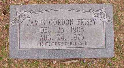 FRISBY, JAMES GORDON - Union County, Arkansas | JAMES GORDON FRISBY - Arkansas Gravestone Photos