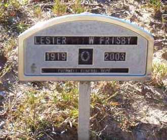 FRISBY, LESTER W - Union County, Arkansas | LESTER W FRISBY - Arkansas Gravestone Photos