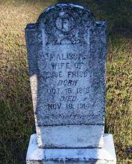 FRISBY, MALISSA - Union County, Arkansas | MALISSA FRISBY - Arkansas Gravestone Photos