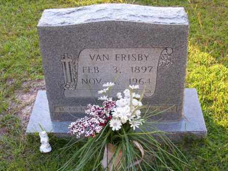 FRISBY, VAN - Union County, Arkansas | VAN FRISBY - Arkansas Gravestone Photos
