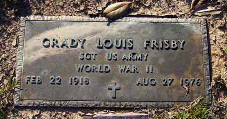 FRISBY (VETERAN WWII), GRADY LOUIS - Union County, Arkansas | GRADY LOUIS FRISBY (VETERAN WWII) - Arkansas Gravestone Photos