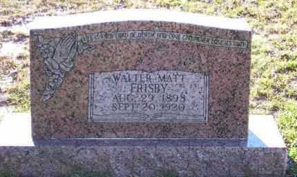 FRISBY, WALTER MATT - Union County, Arkansas | WALTER MATT FRISBY - Arkansas Gravestone Photos