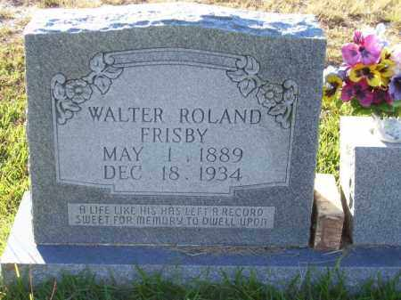 FRISBY, WALTER ROLAND - Union County, Arkansas | WALTER ROLAND FRISBY - Arkansas Gravestone Photos