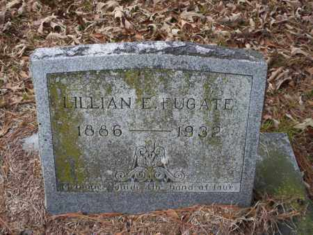FUGATE, LILLIAN E - Union County, Arkansas | LILLIAN E FUGATE - Arkansas Gravestone Photos
