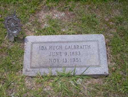 GALBRAITH, IDA HUGH - Union County, Arkansas | IDA HUGH GALBRAITH - Arkansas Gravestone Photos