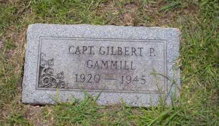 GAMMILL  (VETERAN WWII), GILBERT P. - Union County, Arkansas | GILBERT P. GAMMILL  (VETERAN WWII) - Arkansas Gravestone Photos