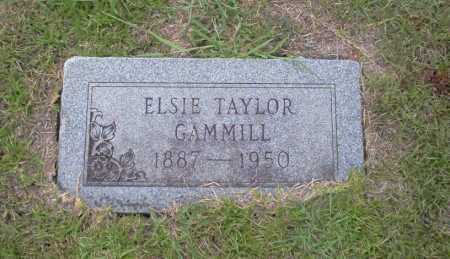 TAYLOR GAMMILL, ELSIE - Union County, Arkansas | ELSIE TAYLOR GAMMILL - Arkansas Gravestone Photos