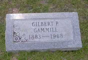 GAMMILL, GILBERT P - Union County, Arkansas | GILBERT P GAMMILL - Arkansas Gravestone Photos