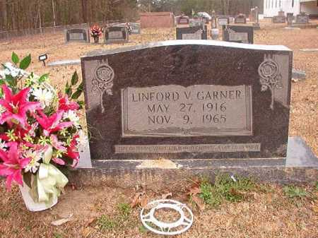 GARNER, LINFORD V - Union County, Arkansas | LINFORD V GARNER - Arkansas Gravestone Photos