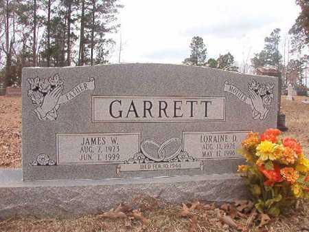 GARRETT, JAMES W - Union County, Arkansas | JAMES W GARRETT - Arkansas Gravestone Photos