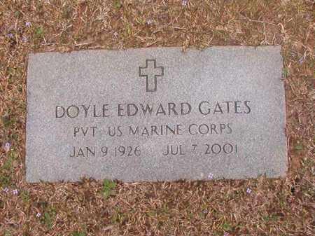 GATES (VETERAN), DOYLE EDWARD - Union County, Arkansas | DOYLE EDWARD GATES (VETERAN) - Arkansas Gravestone Photos