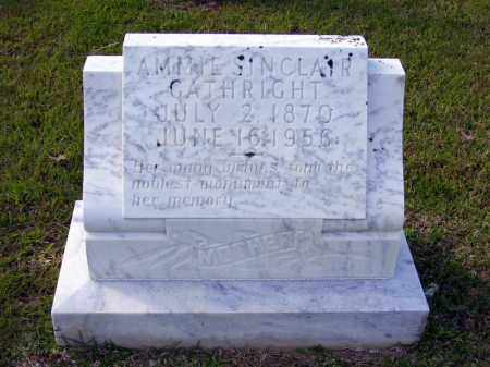 SINCLAIR GATHRIGHT, AMMIE - Union County, Arkansas | AMMIE SINCLAIR GATHRIGHT - Arkansas Gravestone Photos