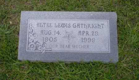 GATHRIGHT, ALTEE - Union County, Arkansas | ALTEE GATHRIGHT - Arkansas Gravestone Photos