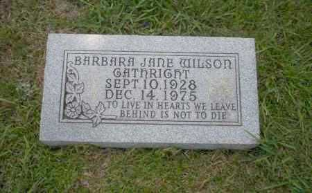 GATHRIGHT, BARBARA JANE - Union County, Arkansas | BARBARA JANE GATHRIGHT - Arkansas Gravestone Photos