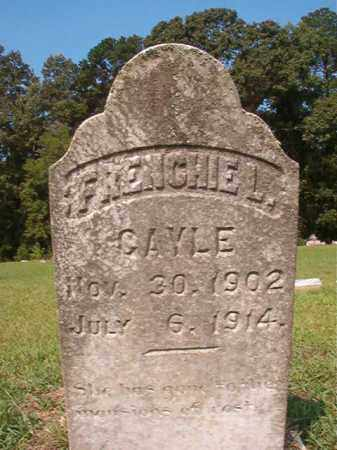 GAYLE, FRENCHIE L - Union County, Arkansas | FRENCHIE L GAYLE - Arkansas Gravestone Photos