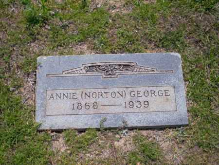 GEORGE, ANNIE - Union County, Arkansas | ANNIE GEORGE - Arkansas Gravestone Photos