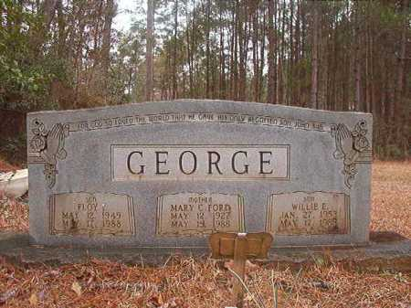 FORD GEORGE, MARY C - Union County, Arkansas | MARY C FORD GEORGE - Arkansas Gravestone Photos