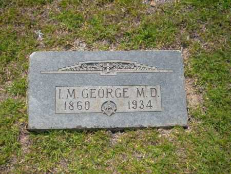 GEORGE, I.M. - Union County, Arkansas | I.M. GEORGE - Arkansas Gravestone Photos