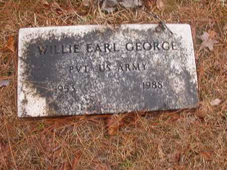 GEORGE (VETERAN), WILLIE EARL - Union County, Arkansas | WILLIE EARL GEORGE (VETERAN) - Arkansas Gravestone Photos