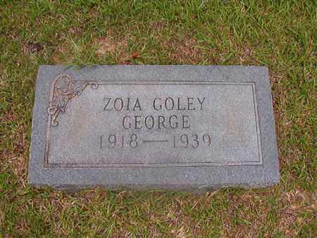GEORGE, ZOIA - Union County, Arkansas | ZOIA GEORGE - Arkansas Gravestone Photos