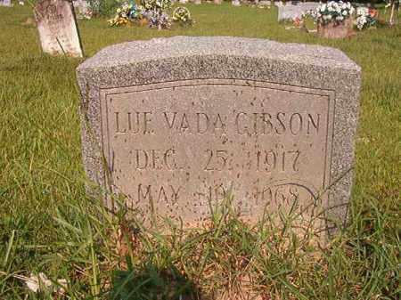 GIBSON, LUE VADA - Union County, Arkansas | LUE VADA GIBSON - Arkansas Gravestone Photos
