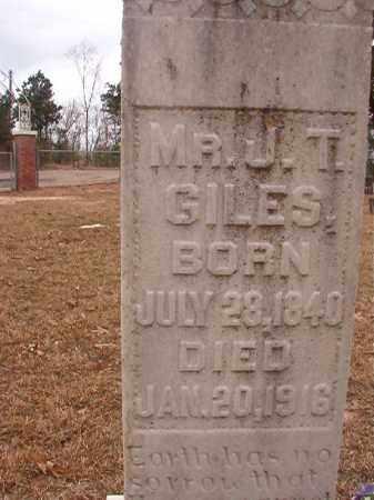 GILES, J T - Union County, Arkansas | J T GILES - Arkansas Gravestone Photos