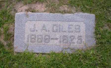 GILES, J.A. - Union County, Arkansas | J.A. GILES - Arkansas Gravestone Photos