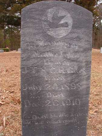 GILES, MATTIE LYDA - Union County, Arkansas | MATTIE LYDA GILES - Arkansas Gravestone Photos