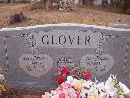 GLOVER, JENNIE B - Union County, Arkansas | JENNIE B GLOVER - Arkansas Gravestone Photos