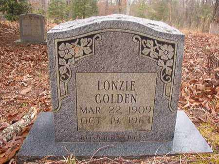 GOLDEN, LONZIE - Union County, Arkansas | LONZIE GOLDEN - Arkansas Gravestone Photos