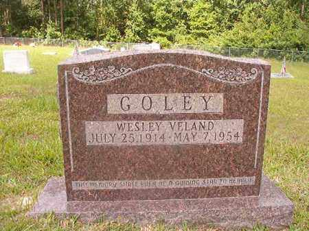 GOLEY, WESLEY VELAND - Union County, Arkansas | WESLEY VELAND GOLEY - Arkansas Gravestone Photos