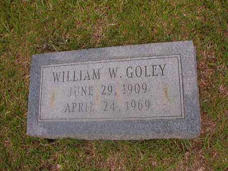 GOLEY, WILLIAM W - Union County, Arkansas | WILLIAM W GOLEY - Arkansas Gravestone Photos