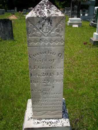 GOODWIN, CORNELIA A - Union County, Arkansas | CORNELIA A GOODWIN - Arkansas Gravestone Photos