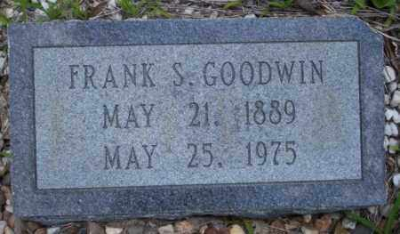 GOODWIN, FRANK S - Union County, Arkansas | FRANK S GOODWIN - Arkansas Gravestone Photos