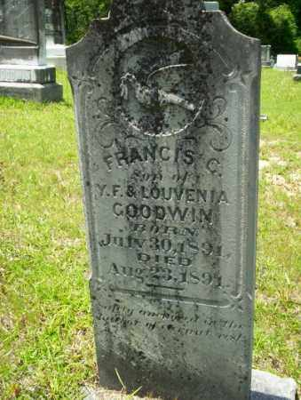 GOODWIN, FRANCIS C - Union County, Arkansas | FRANCIS C GOODWIN - Arkansas Gravestone Photos