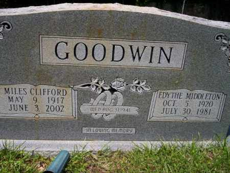GOODWIN, MILES CLIFFORD - Union County, Arkansas | MILES CLIFFORD GOODWIN - Arkansas Gravestone Photos